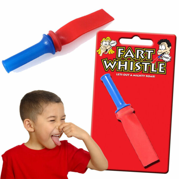 2Pc Fart Whistle Noise Sound Funny Joke Gadget Toy Prank Hilarious Novelty Kids