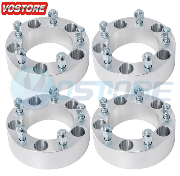 4 2quot; Wheel Spacers 5x5.5 fits Ford F 150 E 150 Bronco Jeep CJ3 Dodge Ram 1500