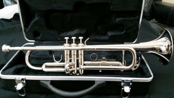 Bb TRUMPET BRAND NEW 2021 STUDENT TO ADVANCED BAND CONCERT SILVER TRUMPETS