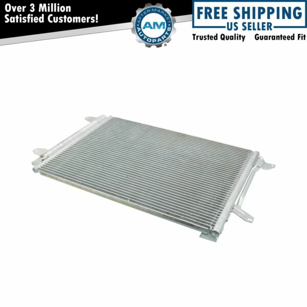 AC Condenser A/C Air Conditioning with Receiver Drier for VW Jetta Beetle New