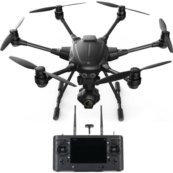 Yuneec Typhoon H RTF Quadcopter Drone with CGO3+ 4K Camera, Wizard Wand Included
