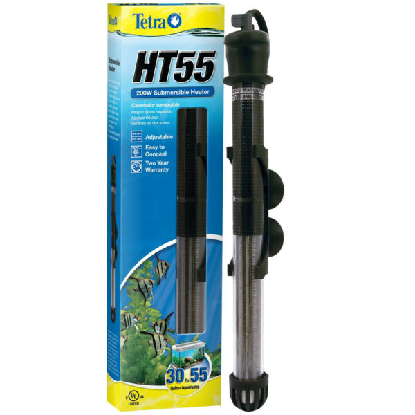 Tetra HT55 Submersible Aquarium Heater  200 WATT    ( 40 - 55 gallon )  # 26463
