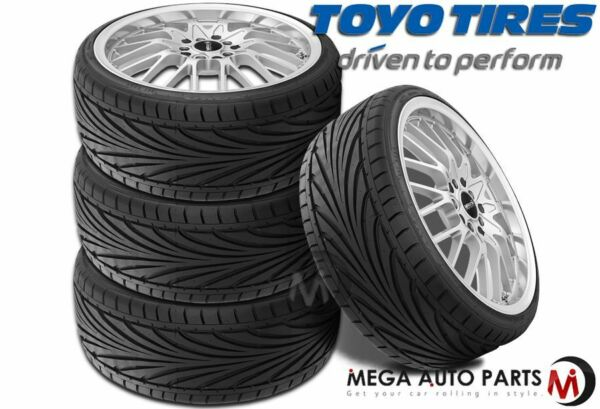 4 New Toyo Proxes T1R 195/45R15 78V Stylish Ultra High Performance Tires