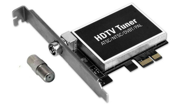 2-In-1 Digital Analog TV Tuner DVR Card For Desktop PC