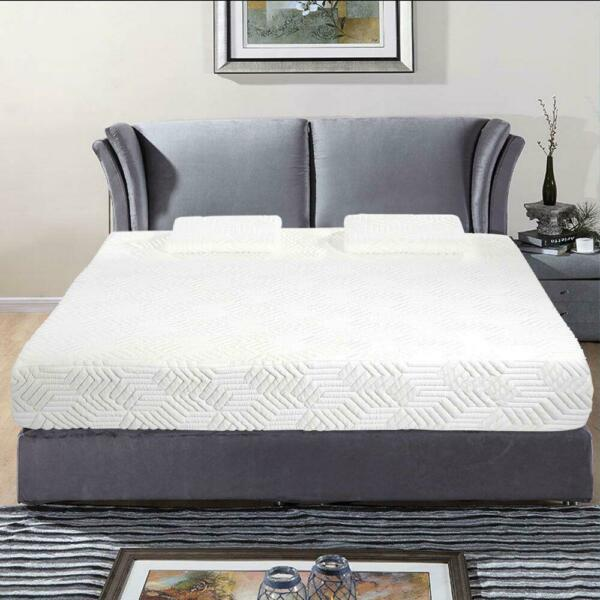 New Traditional Firm Memory Foam Mattress Bed 10