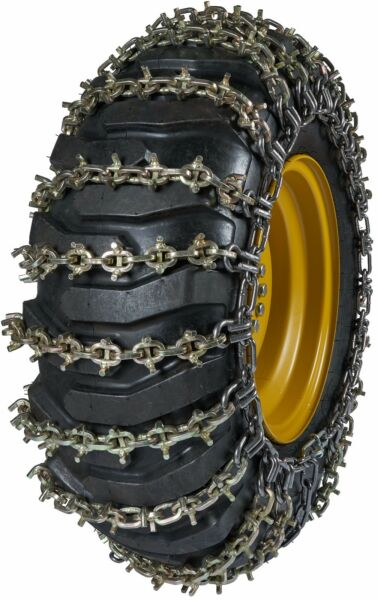 Quality Chain 6557U-2 13.5mm U-Grip Link Loader Grader Tire Chains Snow Traction