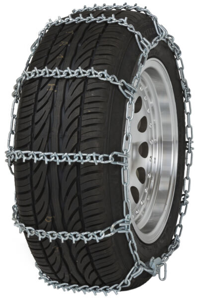 195/65-15 195/65R15 Tire Chains V-Bar Link Snow Traction Passenger Vehicle Car