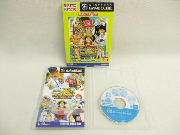 ONE PIECE TREASURE BATTLE the Best Game Cube Nintendo Japan Game gc