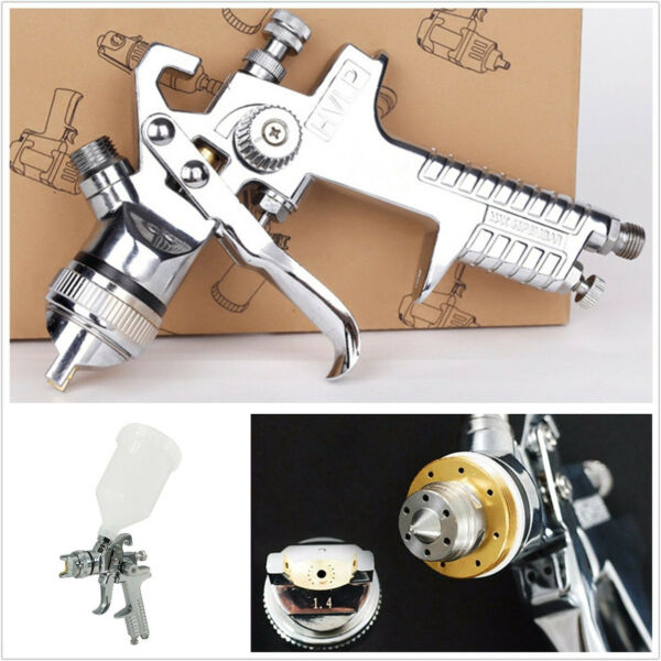 Professional DIY Car SUV 1.4mm HVLP Nozzle Air Tool Gravity Feed Spray Paint Gun