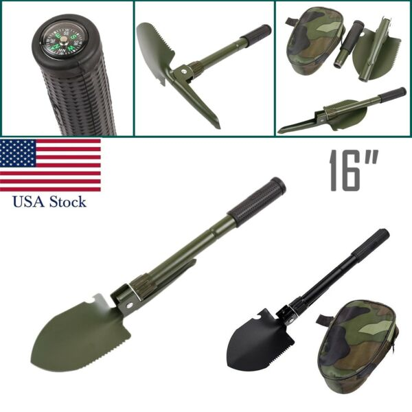 Multi-functional Military Folding Shovel Survival Spade Emergency Garden Camping