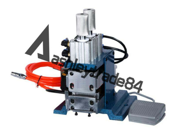 New Desktop Pneumatic Flat Ribbon Cable Wire Stripping Peeling Machine 220V