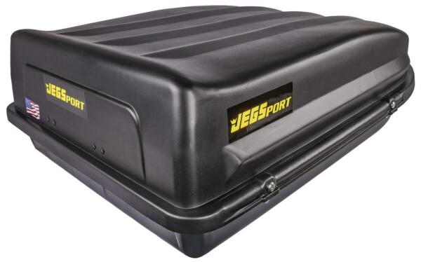 JEGS 90098 Rooftop Cargo Carrier Luggage 18 cu. ft Waterproof Made in USA $202.99