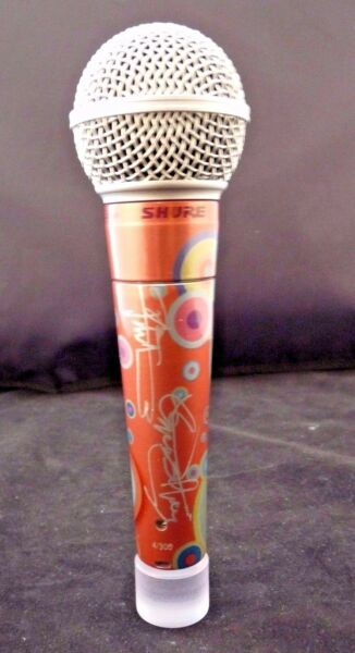 Shure THE WHO DALTREY TOWNSHEND #4 of 10 Signed Limited Edition SM58 Microphone