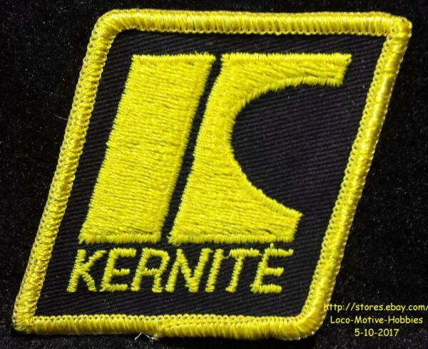 LMH PATCH Badge KERNITE LUBRICATION  Oil Lubricants Grease Gear Lube Fluid 2.75