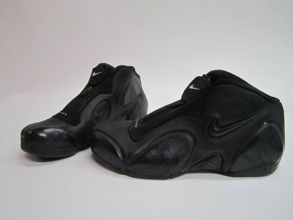 NEW MENS SIZE 9 NIKE AIR ULTRAPOSITE 2003 SNEAKERS BLACK 304884-001 RARE