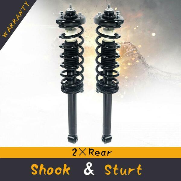 For 2003-07 Honda Accord Rear Quick Complete Struts & Coil Spring w Mounts Pair