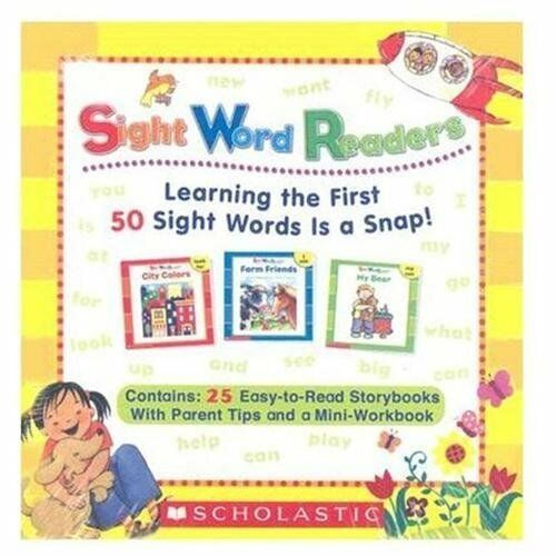 Sight Word Readers Boxed Set: Learning the First 50 Sight Words Is a Snap! [With