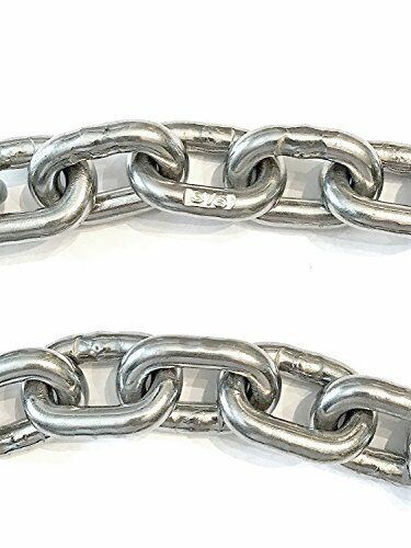 US Stainless Stainless Steel Windlass Anchor Chain 316 8mm (516