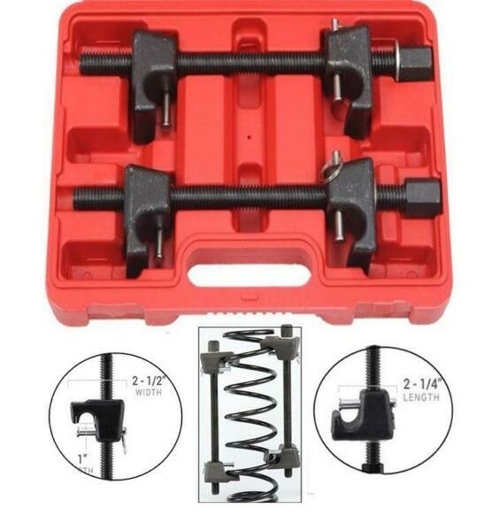 Coil Spring Compressor for MacPherson Struts Shock Absorber Car Garage Tool 2pc