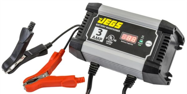 JEGS Performance Products 81954 Battery Charger & Maintainer 3 Amp 6 & 12 Volt 6