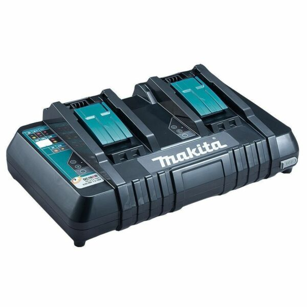 NEW Makita Charger DC18RD 18V Lithium-Ion Dual Port Rapid Optimum (Charger Only)