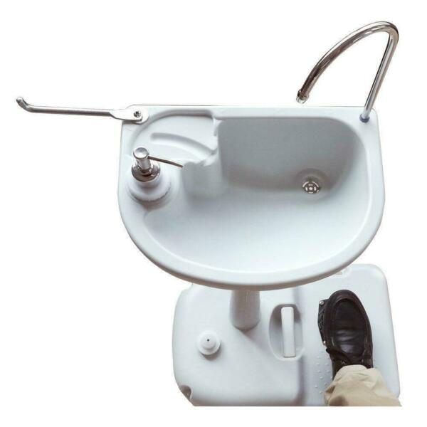 Outdoor Wash Basin Sink Portable Water Tank Faucet Removable Camping Hiking New $59.99