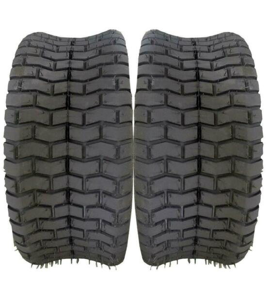 Pair of 16x6.50-8 Soft Turf Lawn Mower Tires Load Capacity :620 lbs