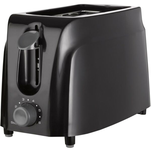 BRAND NEW Brentwood Appliances TS-260B 2-Slice Cool Touch Toaster, Black