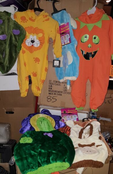 9 New Infant toddler s Baby Halloween Mini Monster Costumes Age 6 36 Months New $119.99