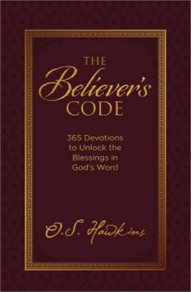 The Believer's Code: 365 Devotions to Unlock the Blessings of God's Word (Leathe