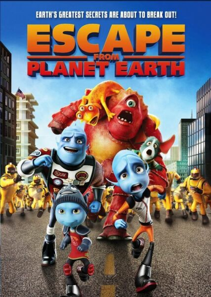 ESCAPE FROM PLANET EARTH 2013 DVD W Special Features NEW $5.95