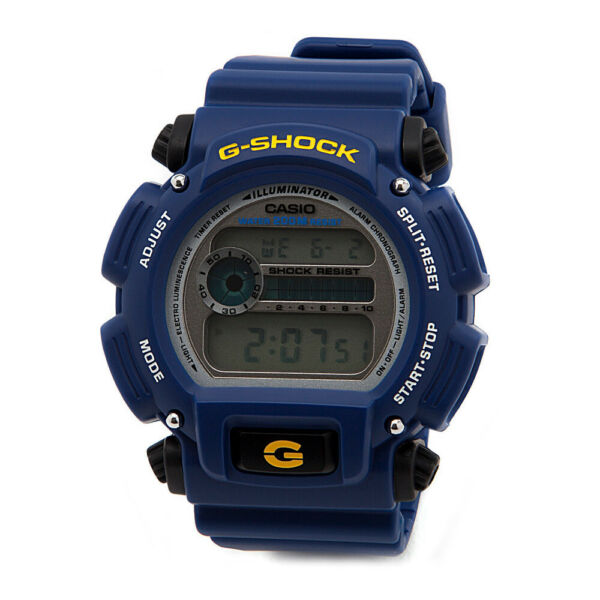Casio Men's DW9052-2 G-Shock Rubber Digital Dial Watch (Blue)