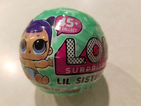 Brand New Sealed Series 2 Wave 2 LOL Surprise Doll Lil Sisters Free Ship Little