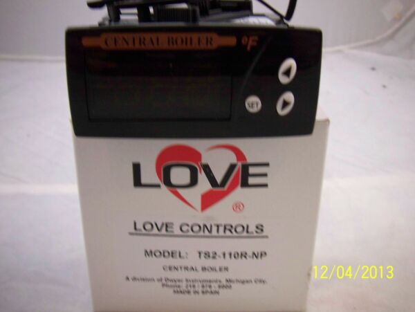 Central Boiler Digital Temperature Love Controller Classic Models Wood Furnace $54.95