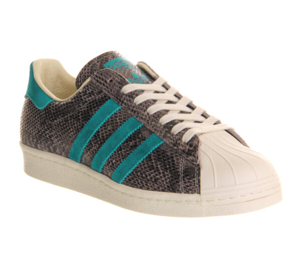 New~Adidas SUPERSTAR 80s SNAKESKIN CLASSIC campus samba Gazelle Shoe~Men sz 10.5