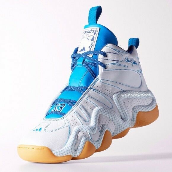 Adidas CRAZY 8 KAREEM ABDUL JABBAR BLUEPRINT 1 Basketball light Shoes~Mens sz 13