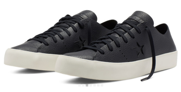 New Converse Men's 154838C One Star Prime Low Top Leather Shoe Black