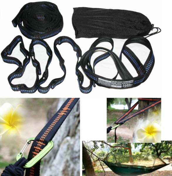 Ultimate Atlas Polyester Slap Straps Suspension Hanging System for ENO Hammock $13.99