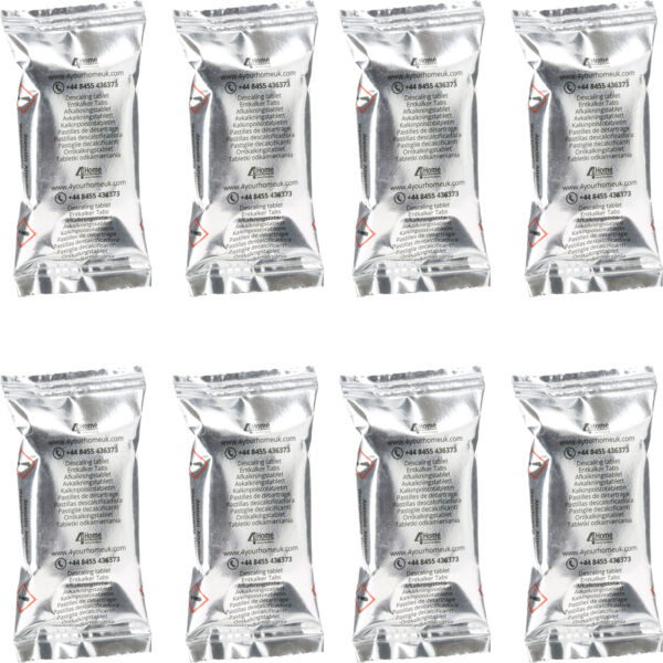 8 x Descaling Tablets Descaler for DeLonghi Dolce Gusto & Krups Coffee Machine