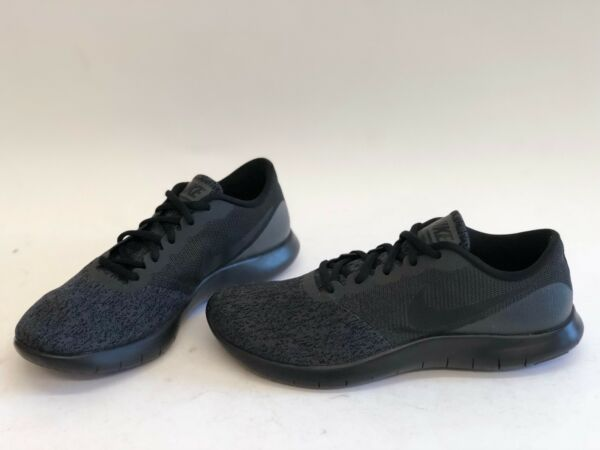 NIB MENS SIZE 12 NIKE FLEX CONTACT RUNNING SNEAKERS ANTHRACITE 908983-003