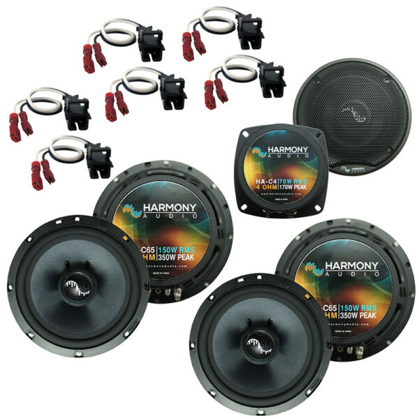 Fits Hummer H2 2003 2007 Factory Speakers Replacement Harmony 2 C65 C4 Package $174.95