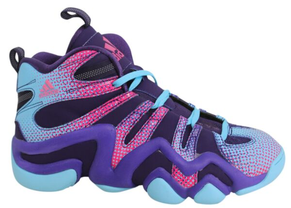 Adidas Crazy 8 Lace Up Multicoloured Mens Basketball Shoes Trainers AQ8463 M