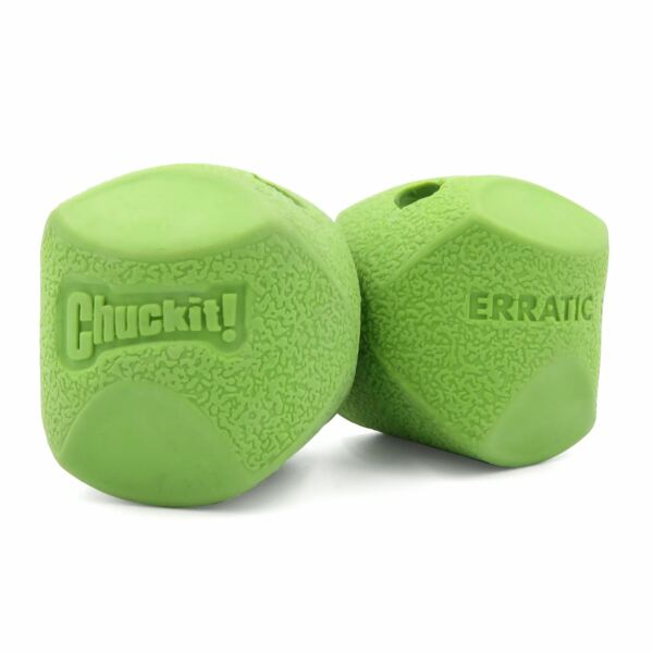 Chuckit Erratic Ball Unpredictable Bouncing Dog Puppy Fetch Toy Fits Launchers