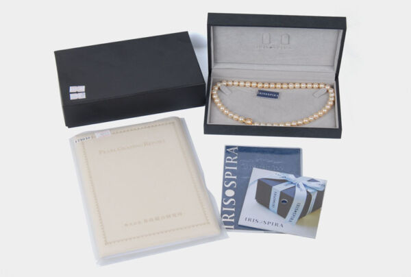 Top IRIS-SPIRA Akoya Cultured Pearl 8.5-9mm 48 Pearls Necklace 43cm