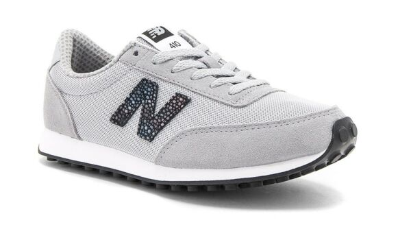 NEW WOMEN'S NEW BALANCE 410 CASUAL SNEAKER SHOES! SILVER MINK GRAY! $65 RETAIL!