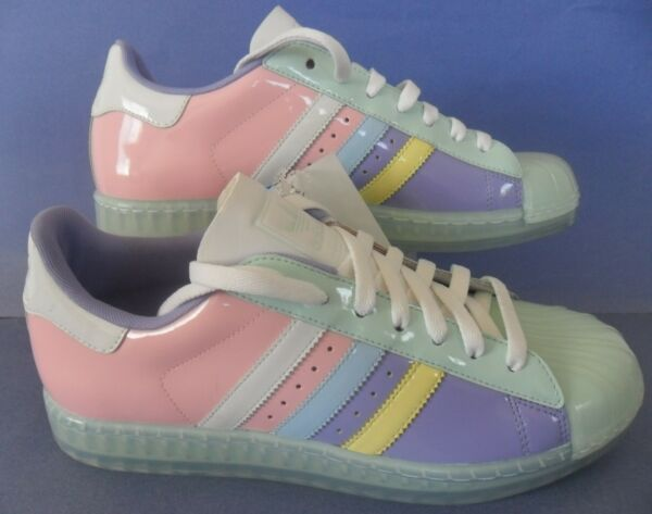RARE EASTER EDITION~Adidas SUPERSTAR CLEAR campus samba gazelle Shoes~Mens sz 10
