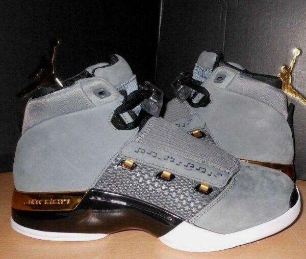NIKE 8.5  Air Jordan 17 XVII Retro TROPHY Room Shoes NEW AH7963-023 Grey /  RARE
