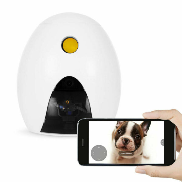 FunPaw Q Treat Dispenser Cat Dog 720p Pet Camera2Way AudioToy Laser w App