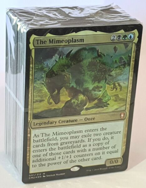 ***Devour for Power*** Sealed Commander Deck The Mimeoplasm CM2 MTG Magic Cards