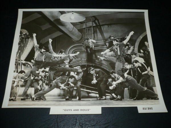 GUYS AND DOLLS orig bw 8x10 [